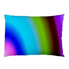 Multi Color Stones Wall Multi Radiant Pillow Case by Simbadda
