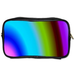 Multi Color Stones Wall Multi Radiant Toiletries Bags 2 Side by Simbadda