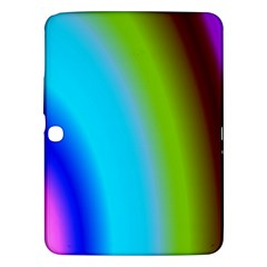Multi Color Stones Wall Multi Radiant Samsung Galaxy Tab 3 (10 1 ) P5200 Hardshell Case  by Simbadda