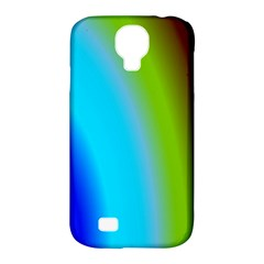 Multi Color Stones Wall Multi Radiant Samsung Galaxy S4 Classic Hardshell Case (pc+silicone) by Simbadda