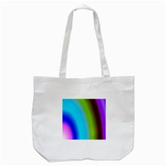 Multi Color Stones Wall Multi Radiant Tote Bag (white) by Simbadda
