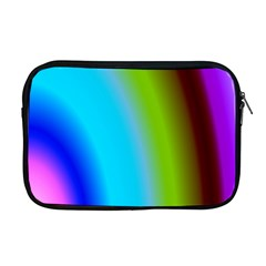 Multi Color Stones Wall Multi Radiant Apple Macbook Pro 17  Zipper Case by Simbadda