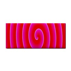 Pink Hypnotic Background Cosmetic Storage Cases by Simbadda