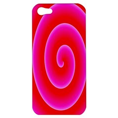 Pink Hypnotic Background Apple Iphone 5 Hardshell Case