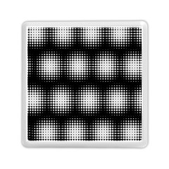 Black And White Modern Wallpaper Memory Card Reader (square)