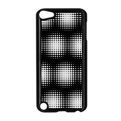 Black And White Modern Wallpaper Apple Ipod Touch 5 Case (black)