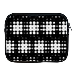 Black And White Modern Wallpaper Apple Ipad 2/3/4 Zipper Cases