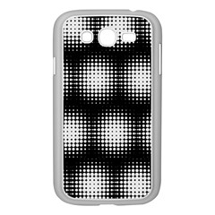 Black And White Modern Wallpaper Samsung Galaxy Grand Duos I9082 Case (white) by Simbadda