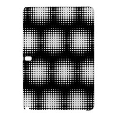 Black And White Modern Wallpaper Samsung Galaxy Tab Pro 10 1 Hardshell Case by Simbadda