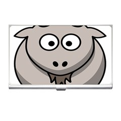 Goat Sheep Animals Baby Head Small Kid Girl Faces Face Business Card Holders