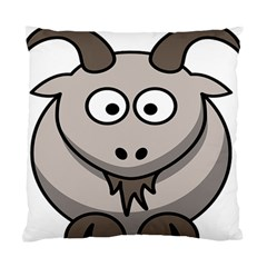 Goat Sheep Animals Baby Head Small Kid Girl Faces Face Standard Cushion Case (one Side) by Alisyart