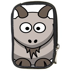 Goat Sheep Animals Baby Head Small Kid Girl Faces Face Compact Camera Cases