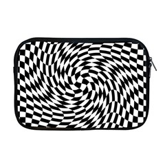 Whirl Apple Macbook Pro 17  Zipper Case by Simbadda