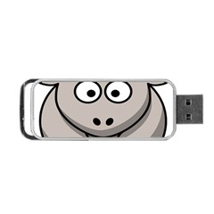 Goat Sheep Animals Baby Head Small Kid Girl Faces Face Portable Usb Flash (one Side) by Alisyart