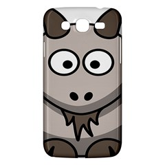 Goat Sheep Animals Baby Head Small Kid Girl Faces Face Samsung Galaxy Mega 5 8 I9152 Hardshell Case  by Alisyart