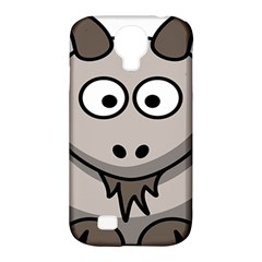 Goat Sheep Animals Baby Head Small Kid Girl Faces Face Samsung Galaxy S4 Classic Hardshell Case (pc+silicone) by Alisyart