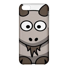 Goat Sheep Animals Baby Head Small Kid Girl Faces Face Apple Iphone 5c Hardshell Case by Alisyart