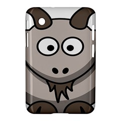 Goat Sheep Animals Baby Head Small Kid Girl Faces Face Samsung Galaxy Tab 2 (7 ) P3100 Hardshell Case  by Alisyart