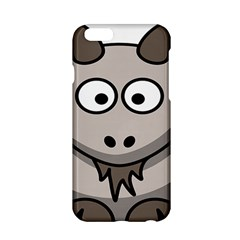 Goat Sheep Animals Baby Head Small Kid Girl Faces Face Apple Iphone 6/6s Hardshell Case by Alisyart