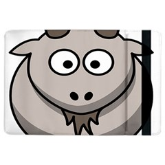 Goat Sheep Animals Baby Head Small Kid Girl Faces Face Ipad Air 2 Flip by Alisyart