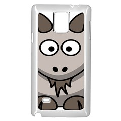 Goat Sheep Animals Baby Head Small Kid Girl Faces Face Samsung Galaxy Note 4 Case (white) by Alisyart