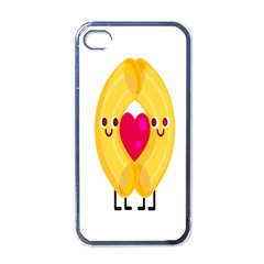 Say Pasta Love Apple Iphone 4 Case (black) by Alisyart