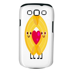 Say Pasta Love Samsung Galaxy S Iii Classic Hardshell Case (pc+silicone) by Alisyart