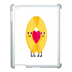 Say Pasta Love Apple Ipad 3/4 Case (white)