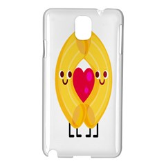 Say Pasta Love Samsung Galaxy Note 3 N9005 Hardshell Case by Alisyart