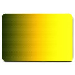 Yellow Gradient Background Large Doormat