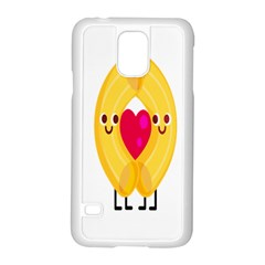 Say Pasta Love Samsung Galaxy S5 Case (white)