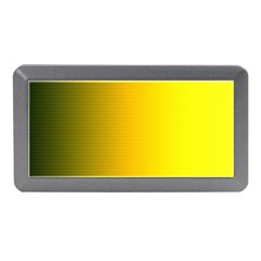 Yellow Gradient Background Memory Card Reader (mini) by Simbadda