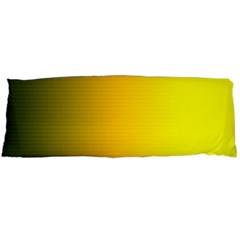 Yellow Gradient Background Body Pillow Case Dakimakura (two Sides) by Simbadda