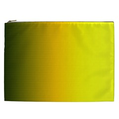 Yellow Gradient Background Cosmetic Bag (xxl)