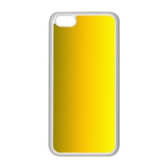 Yellow Gradient Background Apple Iphone 5c Seamless Case (white) by Simbadda