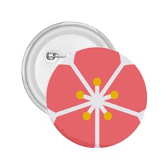 Sakura Heart Guild Flower Floral 2 25  Buttons