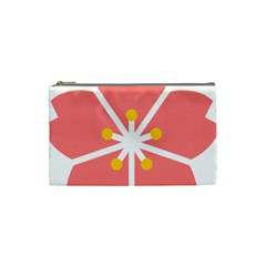 Sakura Heart Guild Flower Floral Cosmetic Bag (small)  by Alisyart