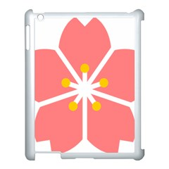 Sakura Heart Guild Flower Floral Apple Ipad 3/4 Case (white)