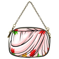 Petal Pattern Dress Flower Chain Purses (two Sides)  by Alisyart
