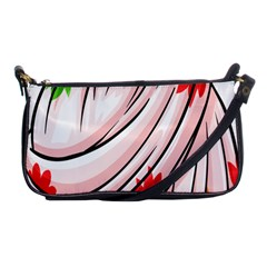 Petal Pattern Dress Flower Shoulder Clutch Bags by Alisyart