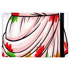 Petal Pattern Dress Flower Ipad Air Flip by Alisyart