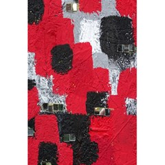 Red Black Gray Background 5 5  X 8 5  Notebooks by Simbadda