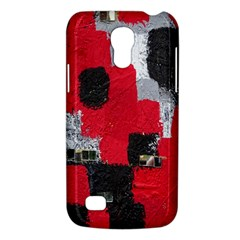 Red Black Gray Background Galaxy S4 Mini by Simbadda