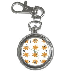 Sun Cupcake Toppers Sunlight Key Chain Watches