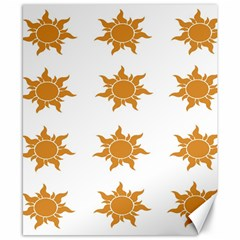 Sun Cupcake Toppers Sunlight Canvas 8  X 10