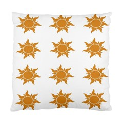 Sun Cupcake Toppers Sunlight Standard Cushion Case (one Side)