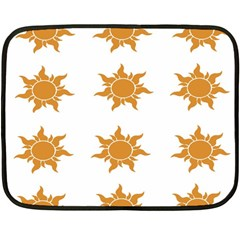 Sun Cupcake Toppers Sunlight Fleece Blanket (mini) by Alisyart