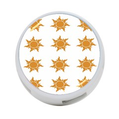 Sun Cupcake Toppers Sunlight 4 Port Usb Hub (one Side) by Alisyart
