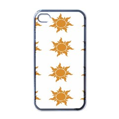 Sun Cupcake Toppers Sunlight Apple Iphone 4 Case (black) by Alisyart