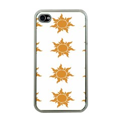 Sun Cupcake Toppers Sunlight Apple Iphone 4 Case (clear) by Alisyart